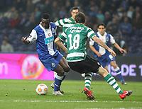 20100202: PORTO, PORTUGAL - FC Porto vs Sporting Lisbon: Portuguese Cup 2009/2010 – Semi-Finals. In picture: Silvestre Varela (Porto, L). PHOTO: Manuel Azevedo/CITYFILES