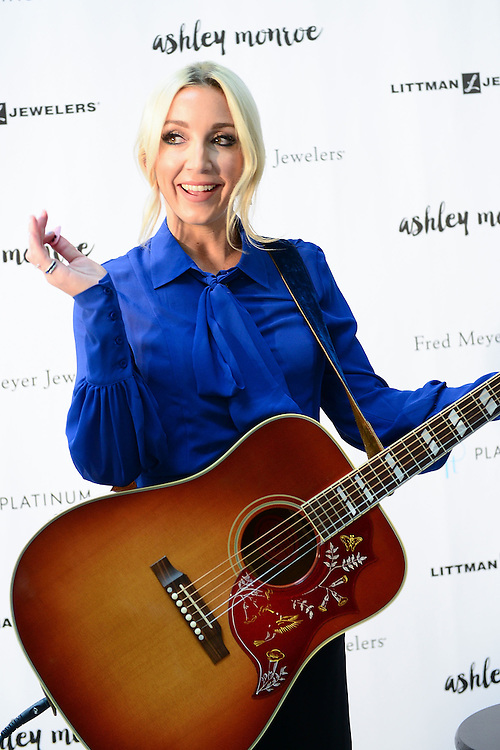 CHERRY HILL, NJ - OCTOBER 25:  Country singer Ashley Monroe performs for fans at Littman Jewelers supporting The Exclusive Platinum Love Bridal Jewelry Collection by Platinum Guild International USA at The Cherry Hill Mall on October 25, 2015 in Cherry Hill, New Jersey.  (Photo by Lisa Lake/Getty Images for Platinum Guild International USA)
