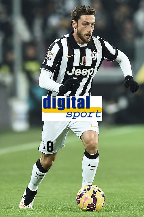 Claudio Marchisio Juventus <br /> Torino 07-02-2015, Juventus Stadium, Football Calcio 2014/2015 Serie A, Juventus - Milan, Foto Image Sport/Insidefoto