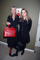 Left to right, JAN DE VILLENEUVE and her daughter DAISY DE VILLENEUVE at The Week of Living Dangerously an exhibition and concert by Richard Ascott and Phil Colbert of fashion label Rodnik held at The Hospital, Endell Street, London on 25th March 2008.<br /><br />NON EXCLUSIVE - WORLD RIGHTS