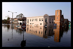 5th Sept, 2005. Hurricane Katrina aftermath. New Orleans. A trip to uptown New Orleans along Napolean Ave. Reflections of a city that used to be. Devastating floods in Uptown New Orleans.