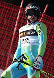 Mitja Dragsic at first run of 9th men's slalom race of Audi FIS Ski World Cup, Pokal Vitranc,  in Podkoren, Kranjska Gora, Slovenia, on March 1, 2009. (Photo by Vid Ponikvar / Sportida)