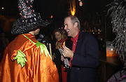 Jerome stern and Nick Drummond. Halloween Party in aid of the MS Society. The Collection. 31 October 2005. ONE TIME USE ONLY - DO NOT ARCHIVE © Copyright Photograph by Dafydd Jones 66 Stockwell Park Rd. London SW9 0DA Tel 020 7733 0108 www.dafjones.com