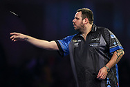 Adrian Lewis during the World Darts Championships 2018 at Alexandra Palace, London, United Kingdom on 27 December 2018.