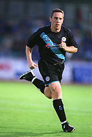 Alan Rogers (Leicester) Brighton & Hove Albion v Leicester City. 4/8/2003. Pre Season friendly match. Credit : Colorsport/Andrew Cowie.
