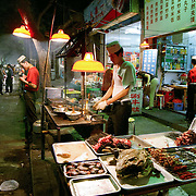 Kebabs, Xian, China (May 2004)