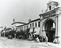 1937 Paramount Studios entrance