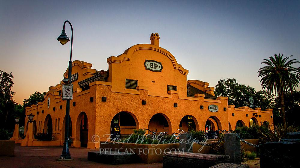 Southern Pacific Depot Davis CA