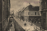 Zagreb = Agram : Ilica. <br /> <br /> ImpresumZagreb : Svjetlotiskarski zavod R. Mosinger, [1901].<br /> Materijalni opis1 razglednica : svjetlotisak ; 9 x 14,1 cm.<br /> NakladnikSvjetlotiskarski zavod R. Mosinger<br /> Mjesto izdavanjaZagreb<br /> Vrstavizualna građa • razglednice<br /> ZbirkaZbirka razglednica • Grafička zbirka NSK<br /> ProjektPozdrav iz Hrvatske<br /> Formatimage/jpeg<br /> PredmetZagreb –– Ilica<br /> Obuhvat(vremenski)19. stoljeće • 20. stoljeće<br /> NapomenaRazglednica je putovala u 1901. godine • Poleđina razglednice je namijenjena samo za adresu<br /> PravaJavno dobro<br /> Identifikatori000921337<br /> NBN.HRNBN: urn:nbn:hr:238:743591 <br /> <br /> Izvor: Digitalne zbirke Nacionalne i sveučilišne knjižnice u Zagrebu