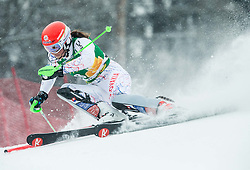 Petra Vlhova (SVK) competes during the 6th Ladies'  Slalom at 53rd Golden Fox - Maribor of Audi FIS Ski World Cup 2016/17, on January 8, 2017 in Pohorje, Maribor, Slovenia. Photo by Vid Ponikvar / Sportida