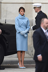 Melania Trump attends the 58th Presidential Inauguration. Trump being sworn in as the 45th president of the United States. January 20, 2017 in Washington, DC. Photo by Lionel Hahn/ABACAPRESS.COM