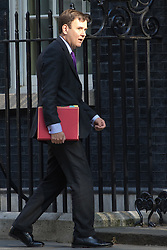 Downing Street, London, May 17th 2016. Chief Secretary to the Treasury Greg Hands arrives at the weekly cabinet meeting in Downing Street.