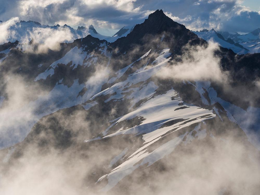 Forbidden Peak from Sahale Mountain, North Cascades National Park, Washington.