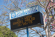 Peary Middle School in Gardena California