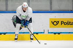 "during practice session of Slovenian Ice Hockey National team before ""Beat Covid-19 Ice Hockey Tournament"", on May 12, 2021 in Hala Tivoli, Ljubljana, Slovenia. Photo by Vid Ponikvar / Sportida"