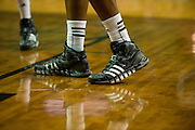 WACO, TX - DECEMBER 18: Players from both the Baylor Bears and the Northwestern State Demons wear Adidas shoes on December 18 at the Ferrell Center in Waco, Texas.  (Photo by Cooper Neill/Getty Images) *** Local Caption ***