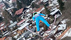 30.01.2016, Normal Hill Indiviual, Oberstdorf, GER, FIS Weltcup Ski Sprung Ladis, Bewerb, im Bild Ursa Bogataj (SLO) // Ursa Bogataj of Slovenia during her Competition Jump of FIS Ski Jumping World Cup Ladis at the Normal Hill Indiviual, Oberstdorf, Germany on 2016/01/30. EXPA Pictures © 2016, PhotoCredit: EXPA/ Peter Rinderer