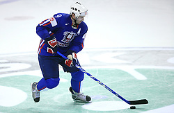 Tomaz Razingar of Slovenia at penalty shot at ice-hockey game Slovenia vs Slovakia at second game in  Relegation  Round (group G) of IIHF WC 2008 in Halifax, on May 10, 2008 in Metro Center, Halifax, Nova Scotia, Canada. Slovakia won after penalty shots 4:3.  (Photo by Vid Ponikvar / Sportal Images)