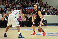 Vaughn Duggins - 27.12.2014 - Paris Levallois / Nancy - 15eme journee de Pro A<br />Photo : Andre Ferreira / Icon Sport