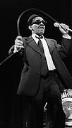 """Laurel Aitken, Pioneer of Jamaican ska music. The """"Godfather of Ska""""."""
