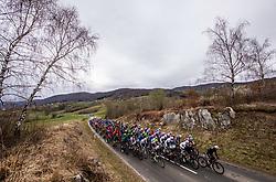 Peloton near Metlika during cycling race 6th Grand Prix Adria Mobil 2021, on March 28, 2021, in Novo mesto, Slovenia. Photo by Vid Ponikvar / Sportida