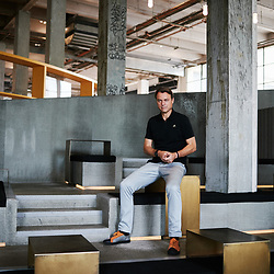 Laurens Van Den Acker, Chief Designer at Groupe Renault, visiting the Palais de Tokyo. Paris, France. July 27, 2019.