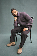 Former British terrorist suspect Moazzam Begg pictured at the Edinburgh International Book Festival where he talked about his experience of being imprisoned as an 'emeny combatant' by the US for three years. The Book Festival was the World's largest literary event and featured writers from around the world. The 2006 event featured around 550 writers and ran from 13-28 August.