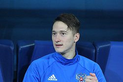 November 14, 2017 - Saint Petersburg, Russia - Of The Russian Federation. Saint-Petersburg. Arena Saint Petersburg, Zenit-arena. Friendly Match. The football world Cup. Team Russia Vs Team Spain. 3:3. Player..Anton Miranchuk Alexey Miranchuk. (Credit Image: © Russian Look via ZUMA Wire)