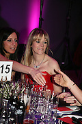 Edith Bowman, Not Another Burns night.  Fundraising gala in aid of Clic Sargent and Children's Hospice Association Scotland (CHAS)St. Martin's Lane Hotel.  Monday 3rd March *** Local Caption *** -DO NOT ARCHIVE-© Copyright Photograph by Dafydd Jones. 248 Clapham Rd. London SW9 0PZ. Tel 0207 820 0771. www.dafjones.com.