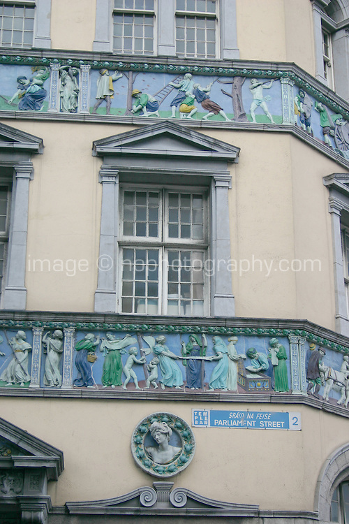 Sunlight Chambers building, Parliament Street, Dublin, Ireland