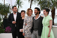 Cast and Director at the Grand Central film photocall at the Cannes Film Festival 18th May 2013