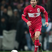 Turkey's Selcuk INAN during their UEFA EURO 2012 Play-off for Final Tournament First leg soccer match Turkey betwen Croatia at TT Arena in Istanbul Nüovember11, 2011. Photo by TURKPIX