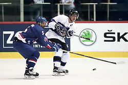 18.04.2016, Dom Sportova, Zagreb, CRO, IIHF WM, England vs Estland, Division I, Gruppe B, im Bild CLARKE David, O CONNOR Ben. // during the 2016 IIHF Ice Hockey World Championship, Division I, Group B, match between England and Estonia at the Dom Sportova in Zagreb, Croatia on 2016/04/18. EXPA Pictures © 2016, PhotoCredit: EXPA/ Pixsell/ Sanjin Strukic<br /> <br /> *****ATTENTION - for AUT, SLO, SUI, SWE, ITA, FRA only*****
