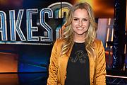 Persviewing van 'It Takes 2'  in Studio 22, Hilversum. 'It Takes 2' is het nieuwe RTL-programma It Takes 2, waarin BN'ers een poging doen om popster te worden,<br /> <br /> Op de foto:  Fatima Moreira de Melo