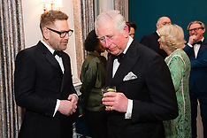Prince of Wales and Duchess of Cornwall at St Patrick's Day Dinner - 7 March 2019