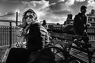 Carolina at The Embarcadero. San Francisco, California. ©Ciro Coelho. All Rights Reserved.