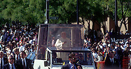 A 28. MG IMAGE OF:..Pope John Paul II in Baltimore,. Maryland on October 5, 1995  Photo by Dennis Brack