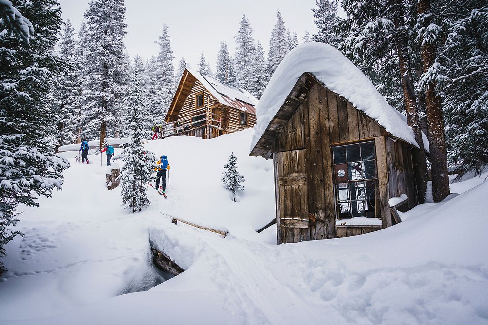 The Mount Hayden Backcountry Lodge, San Juan's, Colorado.