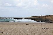 Coastal Nature reserve at Habonim Beach, Israel