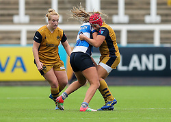 Carys Phillips of Bristol Ladies - Rogan Thomson/JMP - 08/10/2016 - RUGBY UNION - Kingston Park - Newcastle, England - Darlington Mowden Park Sharks v Bristol Ladies Rugby - RFU Women's Premiership.