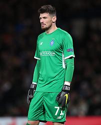 Dynamo Kiev goalkeeper Denys Boyko looks on