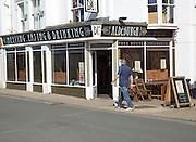 David's Place freehouse bar, Aldeburgh, Suffolk, England, UK