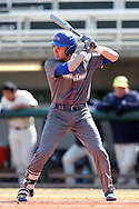 CARY, NC - MARCH 04: UMass Lowell's Austin Young. The University of Massachusetts Lowell River Hawks played the University of Notre Dame Fighting Irish on March 4, 2017, at USA Baseball NTC Stadium Field in Cary, NC in a Division I College Baseball game, and part of the Irish Classic tournament. UMass Lowell won the game 8-0.
