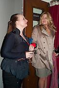 JUDITH OWEN; JENNIFER COOLIDGE, Press night for Ruby Wax- Losing it. Duchess theatre. London. 1 September 2011. <br /> <br />  , -DO NOT ARCHIVE-© Copyright Photograph by Dafydd Jones. 248 Clapham Rd. London SW9 0PZ. Tel 0207 820 0771. www.dafjones.com.