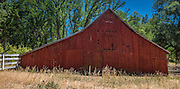 Old Red Barn Tioga Pass