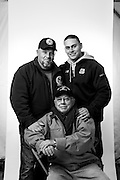 Ralph Kudzma<br /> Marine Corps <br /> Army<br /> Corporal<br /> Infantry<br /> 1953 - 1956<br /> Korean War<br /> <br /> Steven Kudzma<br /> Coast Guard<br /> E-2<br /> Seaman<br /> Nov. 1985 - Nov. 1987<br /> <br /> Steven Kudzma, Jr. <br /> Coast Guard<br /> E-4<br /> MK<br /> Feb. 2007 - Present<br /> <br /> WaterFire Event<br /> Veterans Portrait Project<br /> Providence, RI