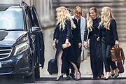 "American actress and model Amber Heard leaves the Royal Courts of Justice in central London on Tuesday, July 28, 2020.<br /> <br /> An article in the Sun describing Johnny Depp as a ""wife-beater"" was ""one-sided"" and ""not researched at all"", the actor's lawyer told the High Court. In closing submissions for Mr Depp, David Sherborne said the paper acted as ""both judge and jury"". Mr Depp is suing the newspaper's publisher and editor for libel, saying the allegation is ""completely untrue"". (VXP Photo/ Vudi Xhymshiti)"