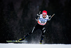 Furger Roman (SUI) during Man 1.2 km Free Sprint Qualification race at FIS Cross<br /> Country World Cup Planica 2016, on January 16, 2016 at Planica,Slovenia. Photo by Ziga Zupan / Sportida
