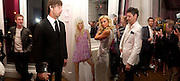 Paris Hilton next to her cut-out.. Paris Hilton's Fragrance Launch Party at Il Bottaccio, Grosvenor Place. London. 16 May 2005. . ONE TIME USE ONLY - DO NOT ARCHIVE  © Copyright Photograph by Dafydd Jones 66 Stockwell Park Rd. London SW9 0DA Tel 020 7733 0108 www.dafjones.com