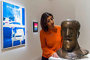 Dame Elisabeth Frink, Head, bronze, circa 1968 (est. £80,000-120,000) - Modern and Post-War British & Scottish Art at Sothebys New Bond Street. The sale will take place between 21 – 22 November.